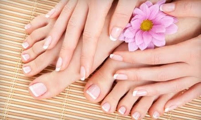 Dolce Vita Day Spa - Plainville: Shellac Manicure, Shellac Pedicure, or Signature Mani-Pedi at Dolce Vita Day Spa (51% Off)
