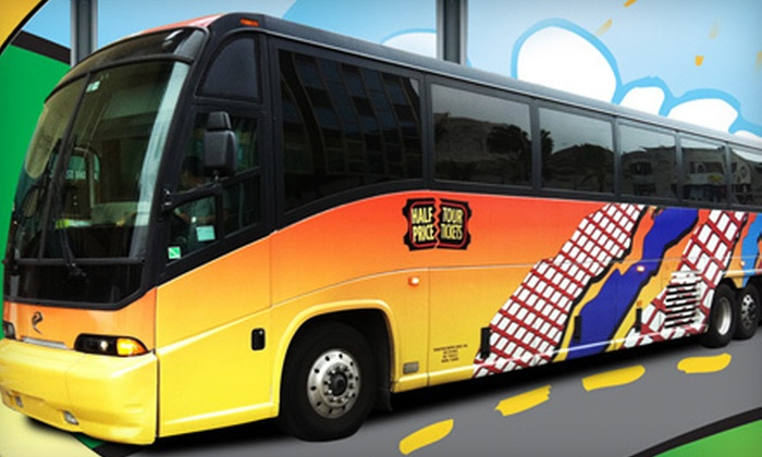 Half Price Tour Tickets - Miami Beach: $30 for a Roundtrip Bus Tour from Miami to Key West from Half Price Tour Tickets ($69 Value)
