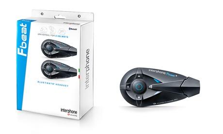 Interfono Bluetooth doppio per moto Interphone Twin Pack FBeat Cellular line
