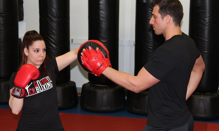 GoForItKickboxing.com - Multiple Locations: 5 or 10 Kickboxing Classes from GoForItKickboxing.com (Up to 81% Off)