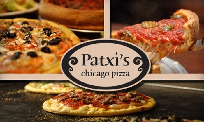 Patxi's Chicago Pizza - Multiple Locations: $10 for $20 Worth of Pies and Drinks at Patxi's Chicago Pizza