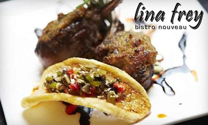 Lina Frey - Lower East Side: $10 for $20 Worth of French Fare at Lina Frey
