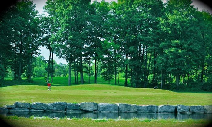 Les Vieux-Moulins Golf Course - District de Deschenes: $40 for an 18-Hole Golf Outing for Two at Les Vieux-Moulins Golf Course in Gatineau (Up to $80 Value)