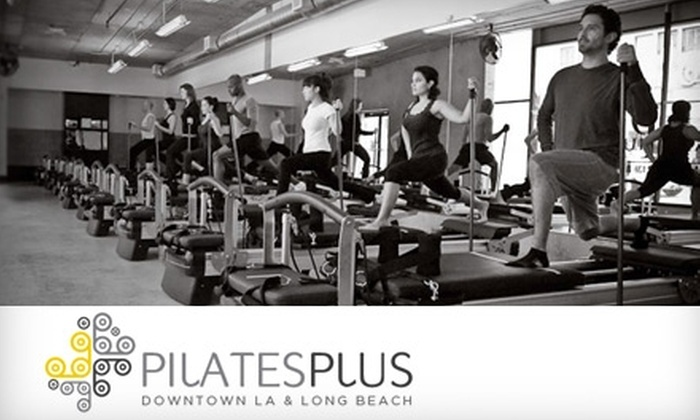 Pilates Plus Downtown LA - Downtown Long Beach: $39 for Three Classes at Pilates Plus Downtown LA & Long Beach ($99 Value)