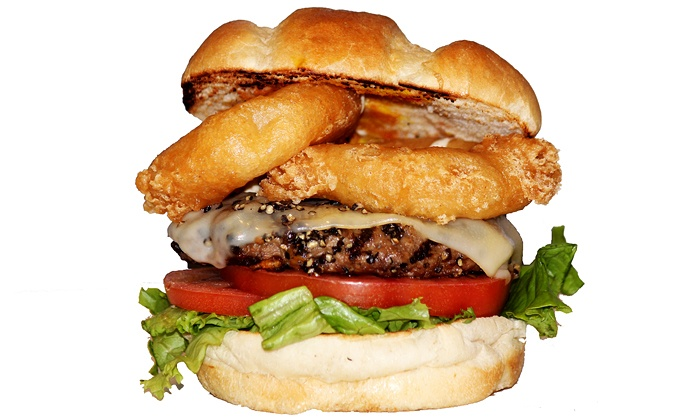 Patty and Franks Gourmet Burgers and Hot Dogs - Greektown: C$15 for C$22 Worth of Gourmet Burgers and Hot Dogs