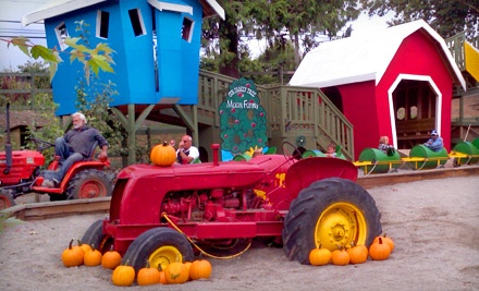 A-maze-ing Farm Fun Package for Two (a $10 value each) Plus Hot Chocolate (a $2 value each; a $24 total value) - Maan Farms in Abbotsford