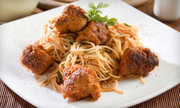 La Prima Grill  - Eldridge/ West Oaks: Half Off of Italian Cuisine at La Prima Grill. Two Options Available.