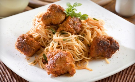$32 Groupon for Italian Cuisine - La Prima Grill  in Houston
