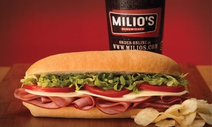 Milio's Sandwiches - West Omaha: $5 for $10 Worth of Subs, Sides, and Thirst Quenchers at Milio's Sandwiches