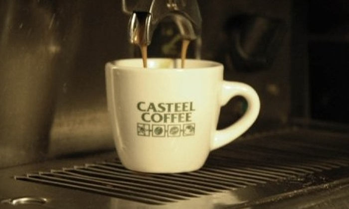 Casteel Coffee - Evanston: $10 for $20 Worth of Coffee, Tea, and More at Casteel Coffee