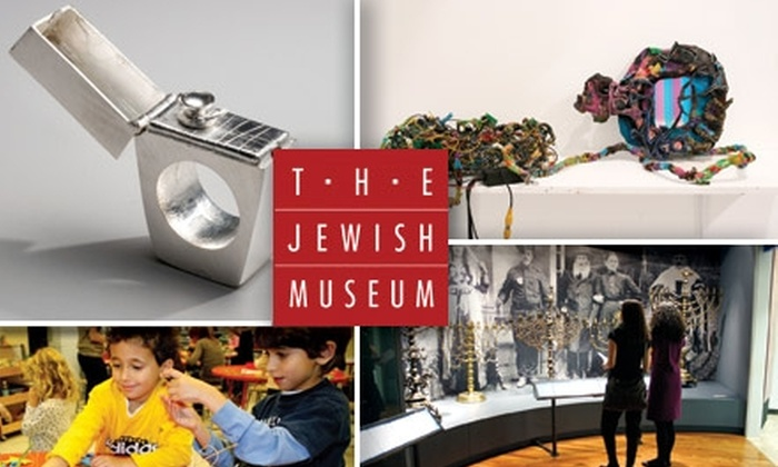 The Jewish Museum - Upper East Side: $50 for a One-Year Family Membership to The Jewish Museum