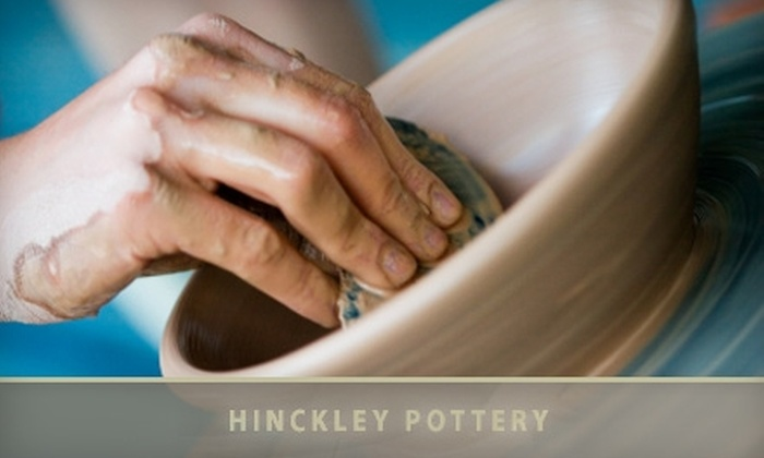 Hinckley Pottery - Adams Morgan: $25 for a Beginner Try It! Pottery Class at Hinckley Pottery ($45 value)