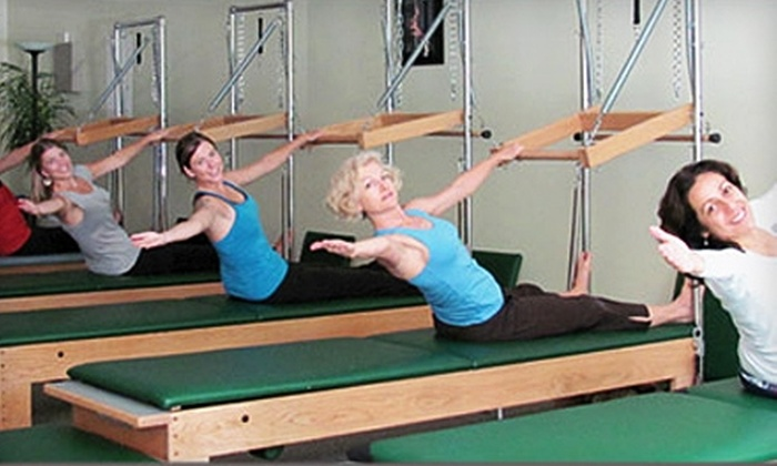 Rose Pilates - Weaverville: Five Group Mat Classes or Three Private Equipment Classes at Rose Pilates
