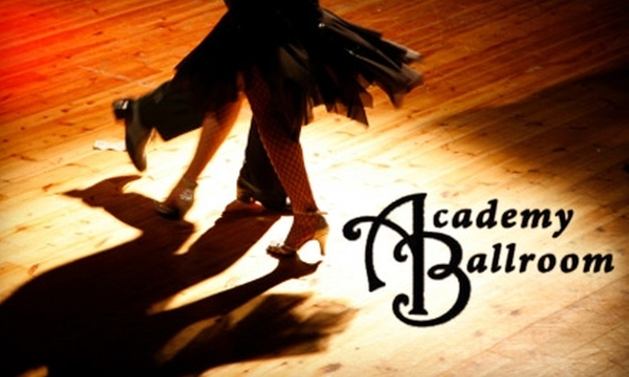 Academy Ballroom - Knoxville: $25 for Five Group Lessons at Academy Ballroom (Up to a $50 Value)