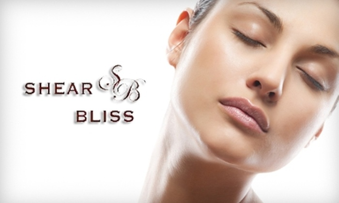 Shear Bliss Salon and Day Spa - Sanford: $40 for One of Four Spa Services at Shear Bliss Salon and Day Spa in Lake Mary (Up to $85 Value)