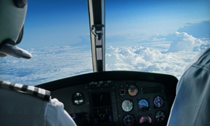 Euro American School of Aviation - Ormond Beach: $55 for Half-Hour Introductory Flight and Ground School at Euro American School of Aviation ($130 Value)