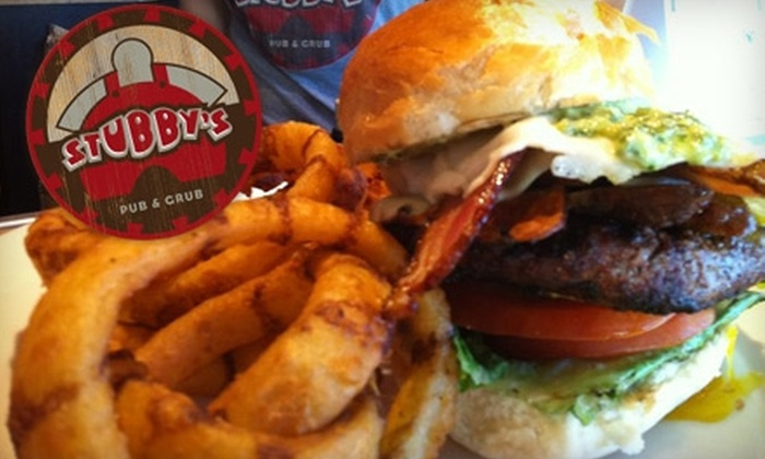 Stubby's Pub & Grub - Riverwest: $15 for $30 Worth of Dinner Fare at Stubby's Pub & Grub (or $10 for $20 Worth of Lunch)