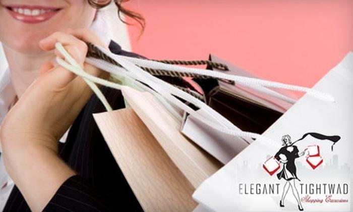Elegant Tightwad Enterprises - Garment District: $39 for a Garment District Diva Trek with Elegant Tightwad Shopping Excursions ($76.50 Value)