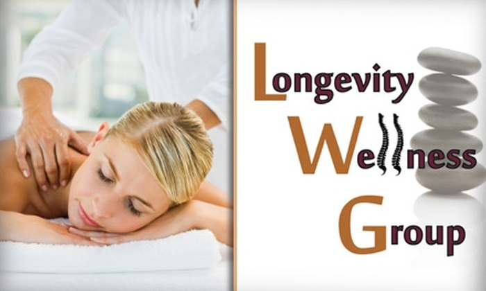 Longevity Wellness Group - Rosedale: $39 for a 50-Minute Chiropractic Massage at Longevity Wellness Group ($80 Value)
