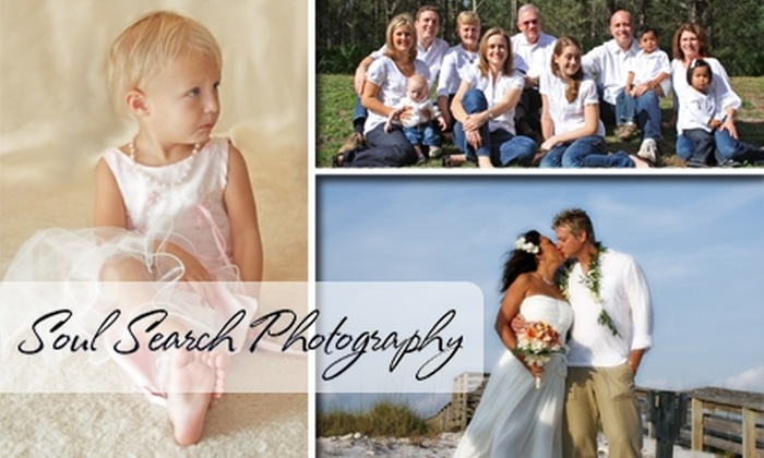 Soul Search Photography  - Tampa Bay Area: $60 for a 30-Minute Photo Session at Soul Search Photography (Up to $225 Value)