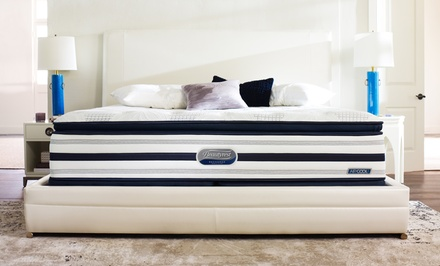 Simmons Beautyrest Recharge World Class Miller Pillow-Top Mattress Sets. Free White Glove Delivery. 25-Year Warranty.