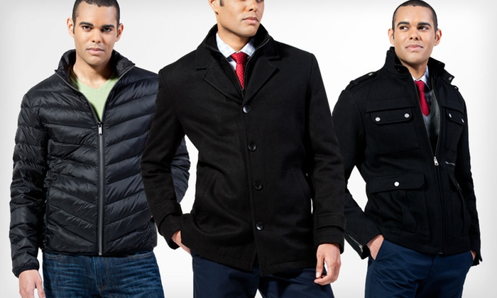 Black Rivet Men's Coats: Black Rivet Men's Coats (Up to 71% Off). Multiple Styles and Sizes Available. Free Shipping and Free Returns.