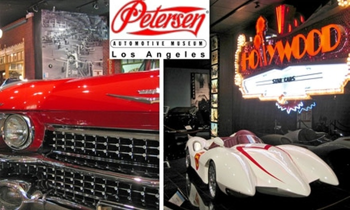 Petersen Automotive Museum - Mid-City West: $6 for One Adult General Admission to the Petersen Automotive Museum ($10 Value)