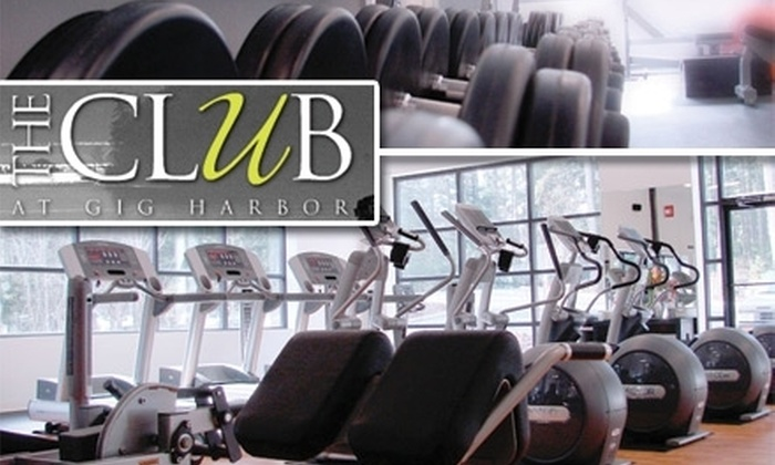 The Club at Gig Harbor - Gig Harbor Peninsula: $49 for Two Personal-Training Sessions and a One-Week Membership to The Club at Gig Harbor