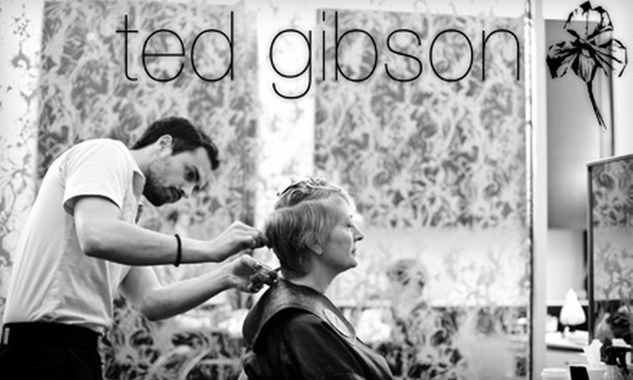 Hela Spa / Ted Gibson Salon - Multiple Locations: $75 for Haircut and Phyto Hair Spa Scalp Treatment at Ted Gibson Salon & Hela Spa in Chevy Chase