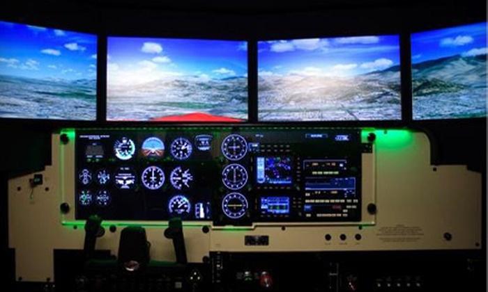 Sky Combat Ace - Henderson: $49 for Flight-Simulator Package at Sky Combat Ace in Henderson ($174 Value)