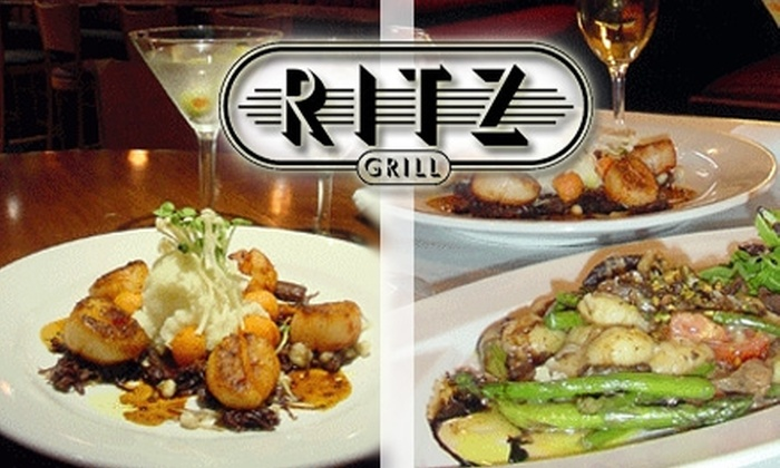 Ritz Grill - Downtown Colorado Springs: $12 for $30 Worth of Eclectic and Cajun-Infused Fare and Drinks at Ritz Grill
