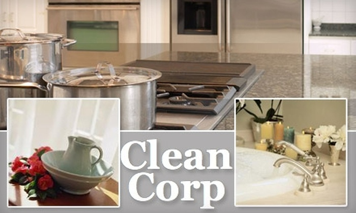 Clean Corp - Atlanta: $35 for Two Hours of House Cleaning from Clean Corp ($117 Value)