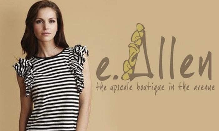E. Allen Boutique - Murfreesboro: $50 for $100 Worth of Designer Apparel at E. Allen Boutique