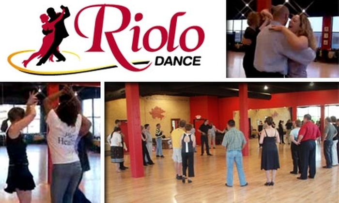 Riolo Dance - Downtown Indianapolis: $10 for Three Dance Classes at Riolo Dance ($30 Value)