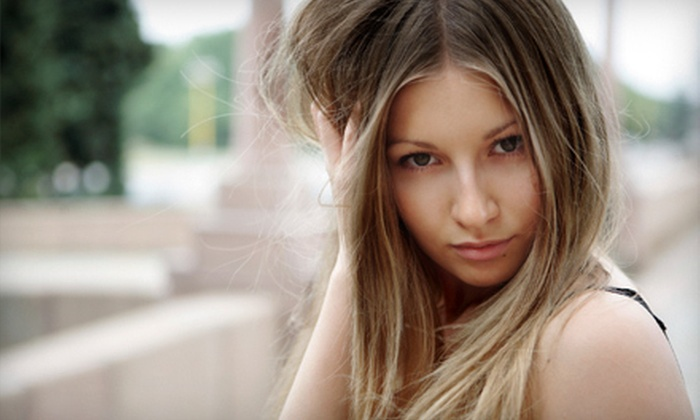Legacy Salon - Keller Town Center: $59 for Lash Extensions or Hair Coloring at Legacy Salon in Keller (Up to $160 Value)