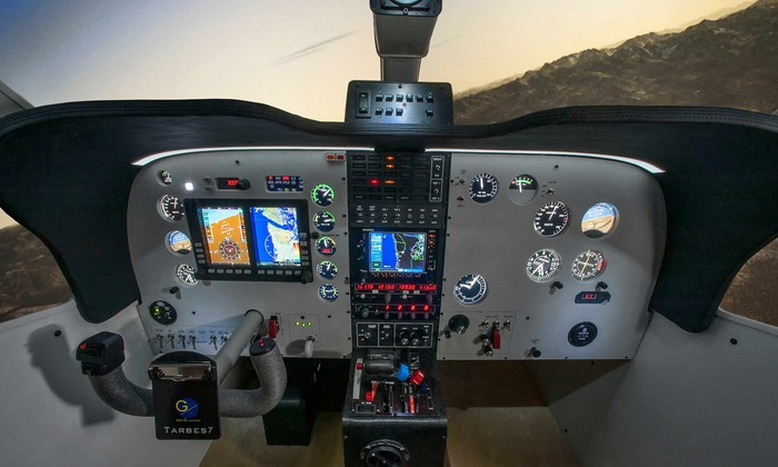 Modern Pilot - Adams: $35 for a One-Hour Training Session in a Flight Simulator at Modern Pilot ($75 Value)