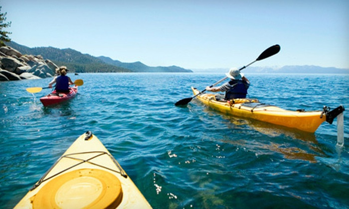 Lincoln Canoe & Kayak - Freeport: Half-Day Guided Kayaking Tours for One, Two, or Four from Lincoln Canoe & Kayak (Up to 58% Off)
