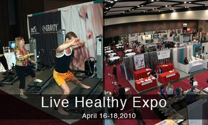 Live Healthy Expo - Santa Clara: $5 for One Ticket to the Live Healthy Expo on April 16, 17, or 18