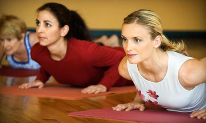 Om Shanti Om Yoga Center - Sayville: $49 for 10 Yoga Classes at Om Shanti Om Yoga Center in Sayville ($125 Value)