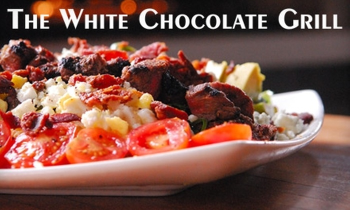 The White Chocolate Grill - Lone Tree: $10 for $20 Worth of Contemporary American Fare and Drinks at The White Chocolate Grill in Lone Tree