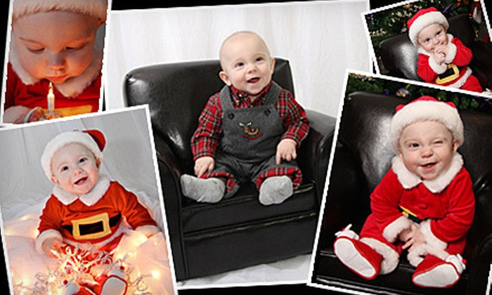 Kreativ Imaging - Sterling Heights: Family Photo Shoot with Option for 25 Holiday Cards and Retouching from Kreativ Imaging (Up to $200 Value)