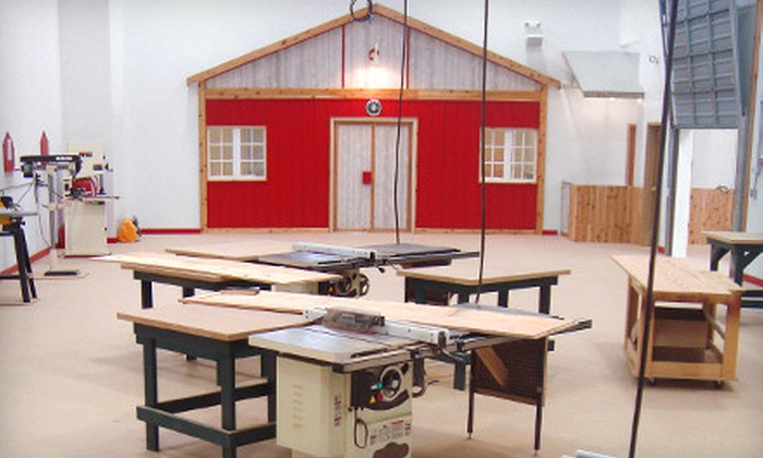 North Country Woodshop - River Bluffs: Woodworking Workshops at North Country Woodshop in Burnsville (Up to 51% Off). Two Options Available.