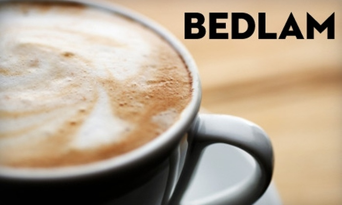 Bedlam Coffee - Seattle: $15 for a $30 Gift Card to Bedlam Coffee