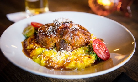 Italian Food for Two or Four at Grotto Vancouver (Up to 41% Off)