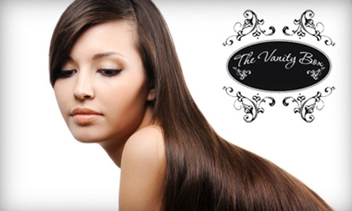 The Vanity Box - Bay Area: $99 for Brazilian Keratin Treatment at The Vanity Box ($300 Value)