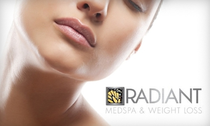 Radiant MedSpa - Wallingford: $65 for Two Chemical Micropeels (Up to $190 Value), $99 for an IPL Photo Facial ($325 Value), or $149 for a Skin Plan and 20-Units of Botox ($305 Value) at Radiant MedSpa in Wallingford