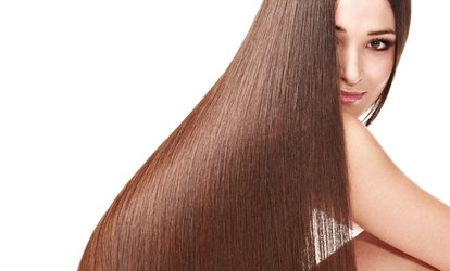 58% Off a Brazilian Blowout with Optional Haircut