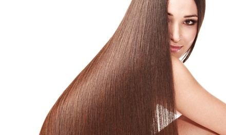 Brazilian Blowout with Optional Wash, Haircut, and Blow-Dry at Sculpting Craze (54% Off)
