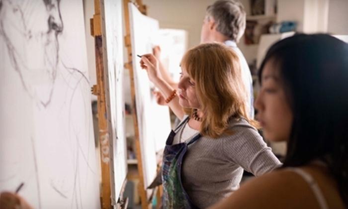 Tulsa Art Center - Tulsa: $70 for Four Art Classes at Tulsa Art Center