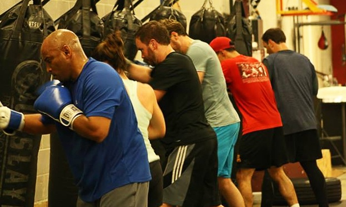 Delgado Boxing - Sandy Springs: Boxing Classes at Delgado Boxing (Up to 82% Off). Three Options Available.